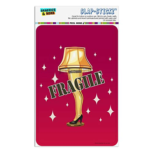 Leg Lamp Window Cling - GRAPHICS & MORE A Christmas Story