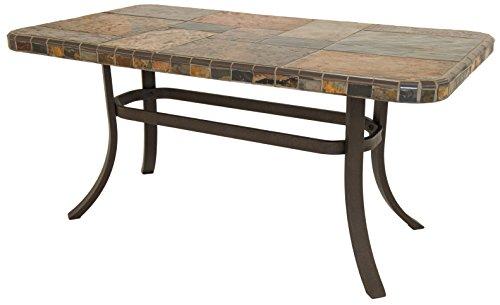 Rectangular Cocktail Series (Impacterra 1200 Series Rectangular Coffee Table, Bronze/S-Slate)