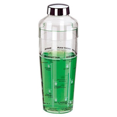 World Cuisine Cocktail (Paderno World Cuisine Acrylic 14 1/4-Ounce Cocktail Shaker)