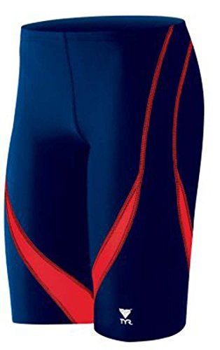 TYR Mens Splice Jammer Swimsuit Navy 32