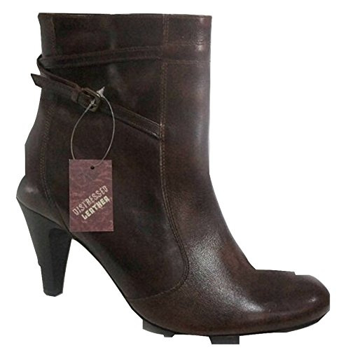 Ex-NEXT Real Leather Ankle Boots Dark Brown IILE3PdIM