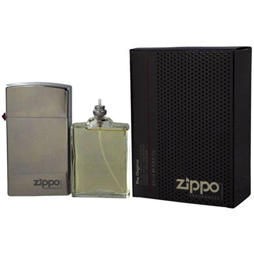 Zippo Original Eau de Toilette Refillable Spray, 3.4 Ounce