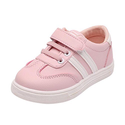 ee1a9adc5b80c6 Huhu833 Baby Schuhe Baby Kinder Mode Kinder Sneaker Jungen Mädchen Casual  Leder Laufschuhe Sportschuhe Rosa