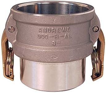Dixon 150dwbpstal Cam y Groove acoplador Butt Weld a horario 40 tubería/Socket soldadura a