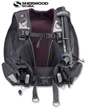 "Sherwood ""Tortuga"" BC/BCD Scuba Diving Buoyancy Compensator with Weight Integrated System Older Model Closeout"