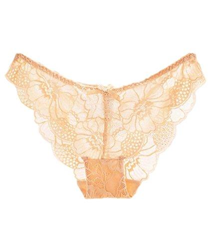 Baymate Braguitas Bikini Cordón Para Mujer Desnudo