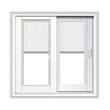 Amazon Com French Sliding Patio Door With Blinds Between Glass In