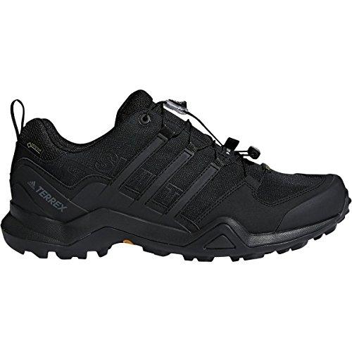 adidas outdoor Mens Terrex Swift R2 GTX Shoe (10 - Black/Black/Black)