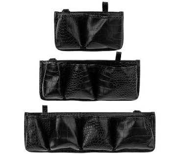 c1cc448700 Amazon.com   On the Go Bag Organizers By Lori Greiner - Set of 3 Sizes -  Black   Beauty