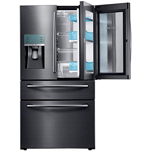 Samsung Appliance RF28JBEDBSG 36″ Energy Star Rated Food Showcase French Door Refrigerator in Black Stainless Steel (Certified Refurbished)