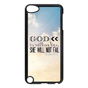 Bible Verse Brand New Cover Case for Ipod Touch 5,diy case cover ygtg620052 wangjiang maoyi