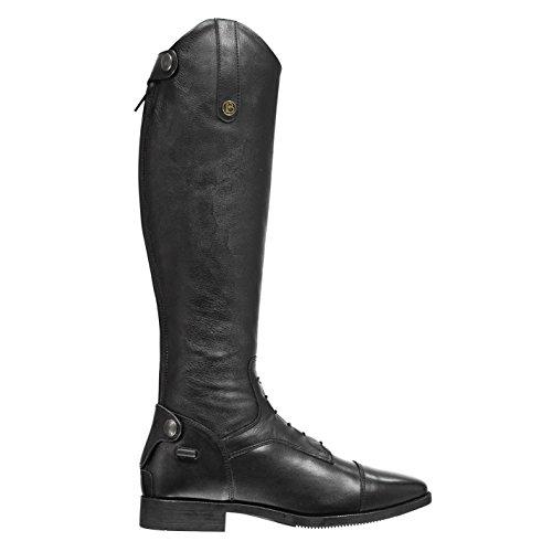 Como Riding Unisex Long Boots Black Brogini E8v5pqwH