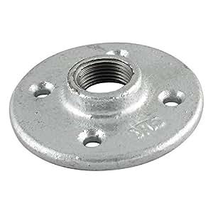 Mueller Industries 511-604HC Galvanized Floor Flange 3/4-Inch
