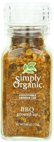 Simply Organic Bbq Ground Up Certified Organic, 3.88-Ounce for sale  Delivered anywhere in USA