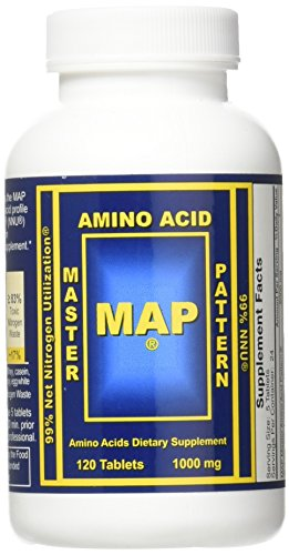 Master Amino Acid Pattern MAP Muscle Building 2 Pack 1000mg 240 Tablets