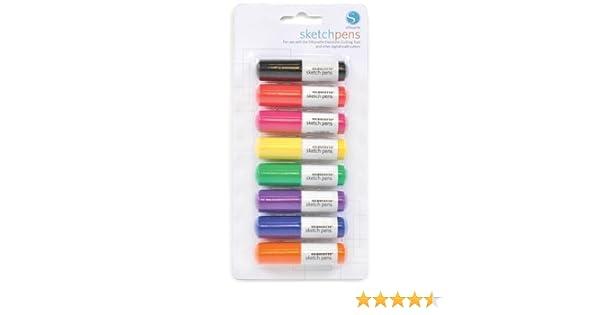 8 bolígrafos de colores para Cameo Plotter, Portrait y Curio: Amazon.es: Hogar