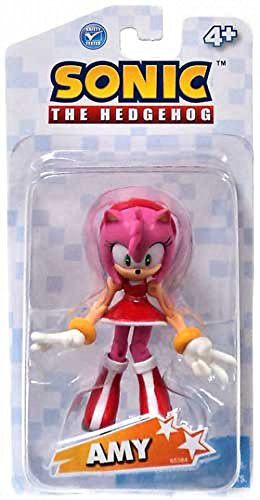 Sonic the Hedgehog 3.5 Inch Action Figure Amy [white package] (Sonic Amy Toy)