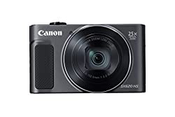 Canon Powershot Sx620 Digital Camera W25x Optical Zoom - Wi-fi & Nfc Enabled (Black)