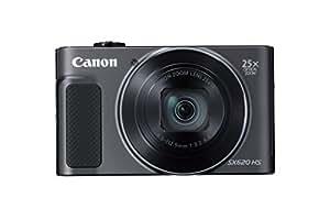 Canon PowerShot SX620 Digital Camera w/25x Optical Zoom - Wi-Fi & NFC Enabled (Black)