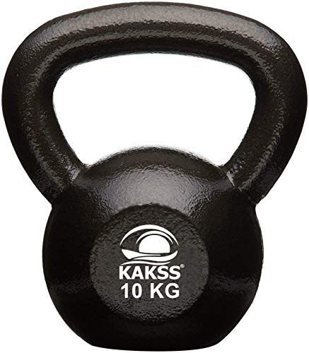 Kakss Solid Cast Iron Kettlebell Weights (Weight 10 Kg) (Proudly Made in India) Price & Reviews