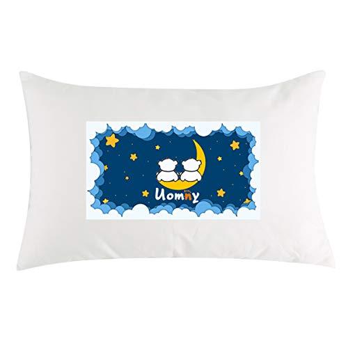 Toddler Pillow 100% Pearl Cotton Machine Washab...