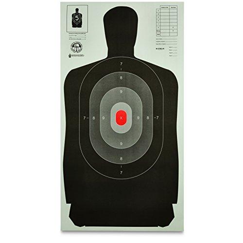 Law Enforcement Silhouette B-27 Targets, 50 Pack by Law Enforcement