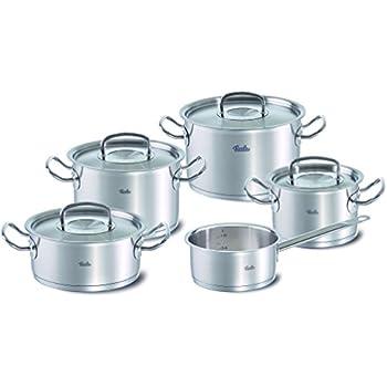 fissler solea 8 piece cookware set fissler pressure cooker kitchen dining. Black Bedroom Furniture Sets. Home Design Ideas