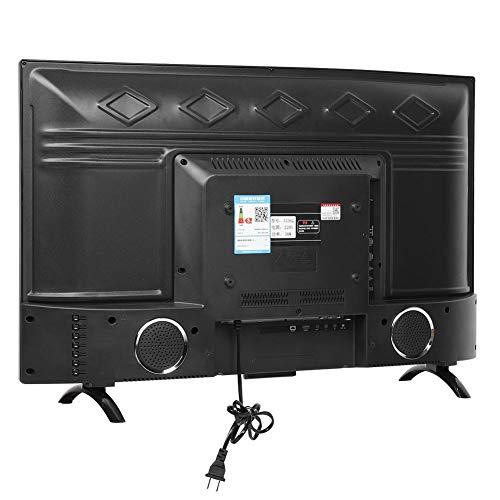 32inch HDR Smart TV,Large Curved Screen Smart 3000R Curvature TV 4K HDR Network Version 110V(US Plug)