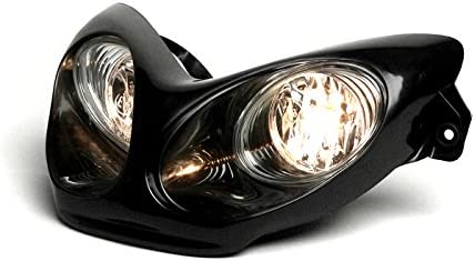Scheinwerfer Bgm Yamaha Aerox Mbk Nitro 50 Schwarz Lampe Licht Neuware Auto