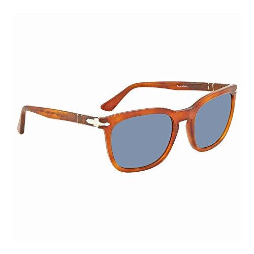Persol Mens Sunglasses Tortoise/Blue Acetate - Non-Polarized - ()