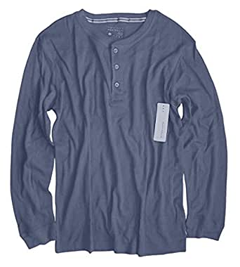 Perry Ellis Men 39 S Long Sleeve Cotton Blend Thermal