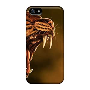 New Arrival Iphone 5/5s Case Lynx Wallpaper Case Cover