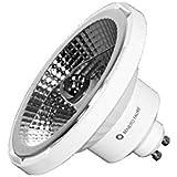 AR111 GU10 LED Leuchtmittel 13W 230V 45° warmton 3000K Reflektor QR111 dimmbar
