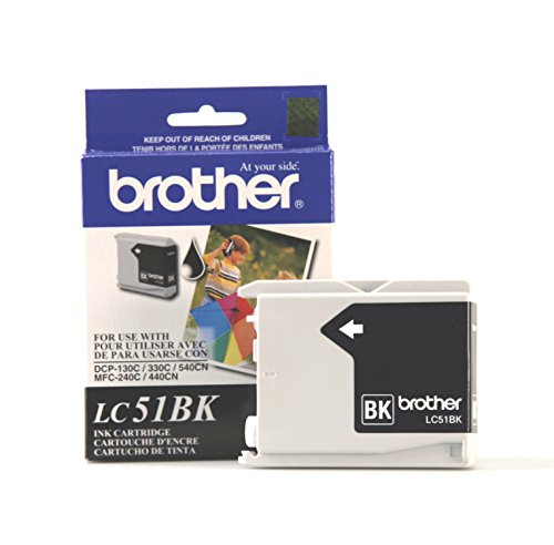 Brother LC51BKS - Black Ink Cartridge 2 Pack