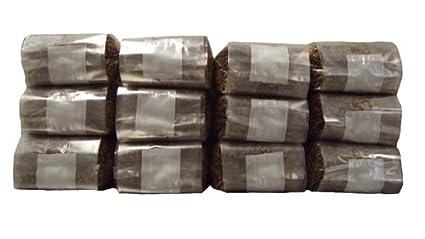 Amazon.com: Doce 1 libra Grow bolsas de esterilización Rye ...