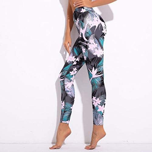 ヨガウェア ヨガパンツレジャースポーツフィットネス印刷ダンスパンツハイウエスト速乾性ランニングパンツおなかコントロールパワーストレッチヨガレギンス