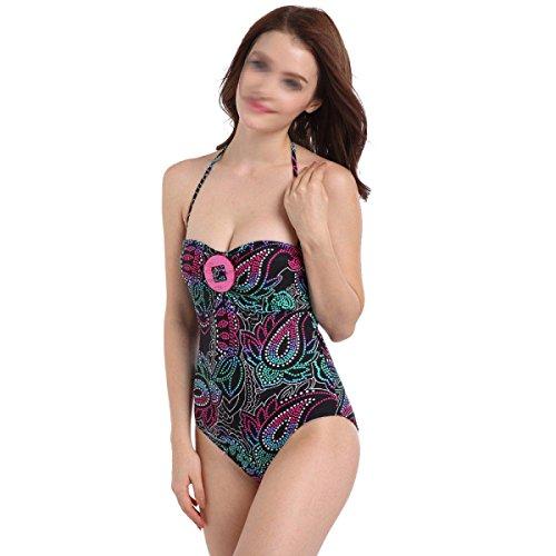 Traje De Baño Pieza Damas De Baño Bikini Con Fertilizante XL,Multi-colored-XXL