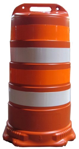 - Work Area Protection B500LC Polyethylene Traffic Drum with 4