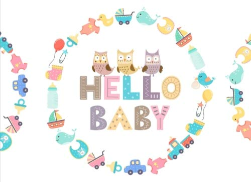 - Hello Baby: Baby Shower Guest Book | Cute Baby Icons Welcome Baby Guest Book Keepsake Notebook Sign In Message Book Gift Log for Parents Family Friend Write Memories Relationships