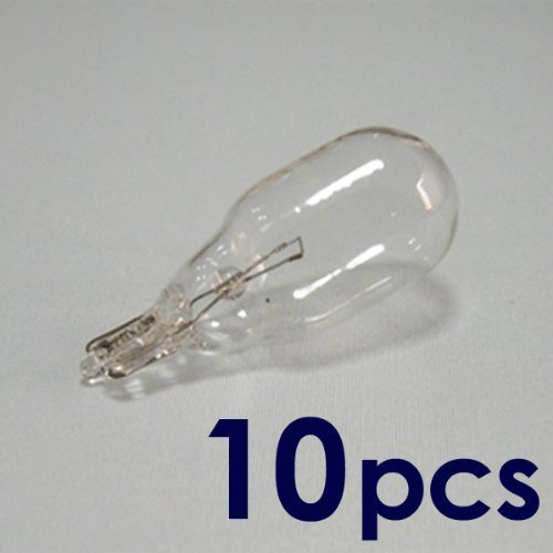 Set of 10, 18 Watt T5 Wedge Bulb, 12 Volt, 18 Watt T5 Wedge Base Bulb, 10XT5-12V-18W