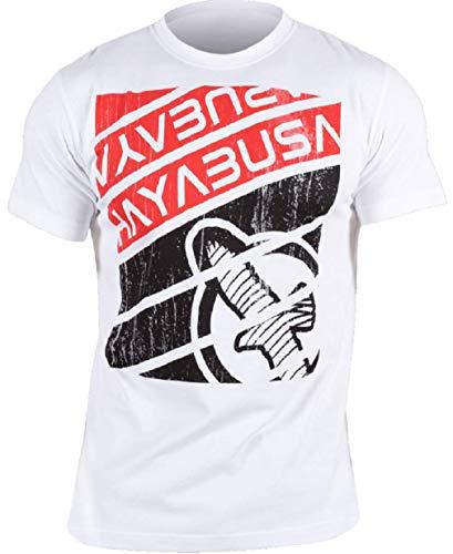 Hayabusa Reflexion Bamboo T-Shirt, White, Medium (Hayabusa T Shirt)