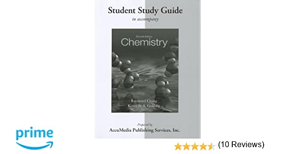Counting Number worksheets fun chemistry worksheets : Student Study Guide for Chemistry: Raymond Chang, Kenneth Goldsby ...