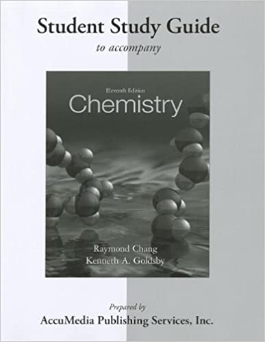 Student study guide for chemistry raymond chang kenneth goldsby student study guide for chemistry 11th edition fandeluxe Images