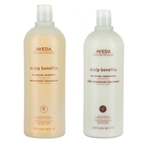 Aveda Scalp Benefits Balancing Shampoo and Conditioner Duo 33.8 oz by Aveda