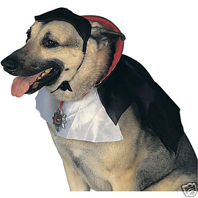 Dogula Dog Dracula Costume Medium