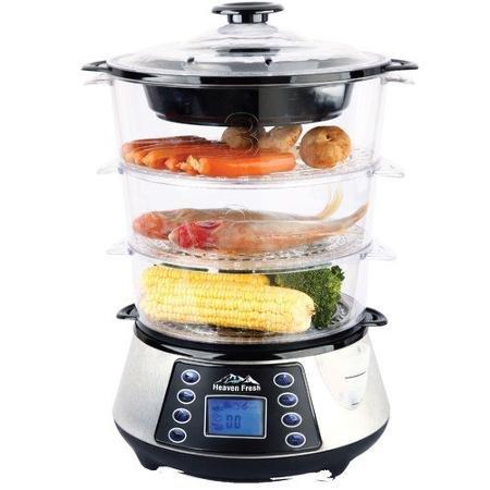 Heaven Fresh USA Inc NaturoPure Digital Food Steamer