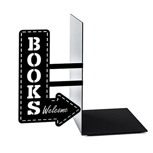 Balvi - Bookshop Metal bookend.
