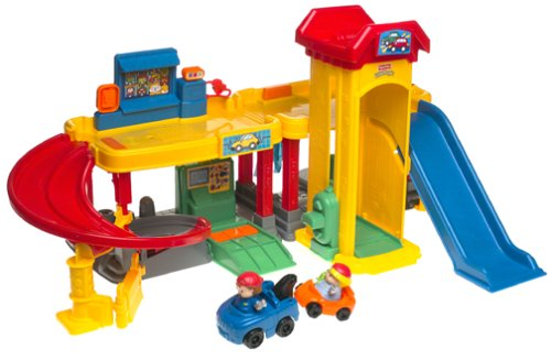 Mattel Little People (Little People Ramps Around Garage)