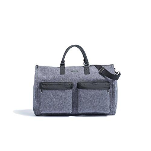 Hook & Albert Garment Weekender Bag (Melange Fabric) by HOOK & ALBERT