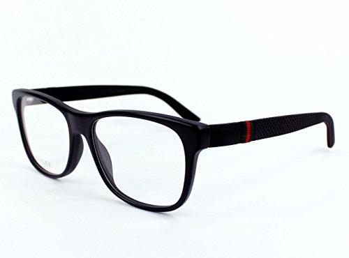 Gucci eyeglasses GG 1070 QE8 Acetate Matt Black